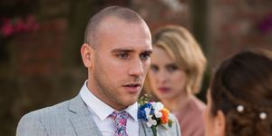 Maxine Minniver and Adam Donovan's wedding day in Hollyoaks