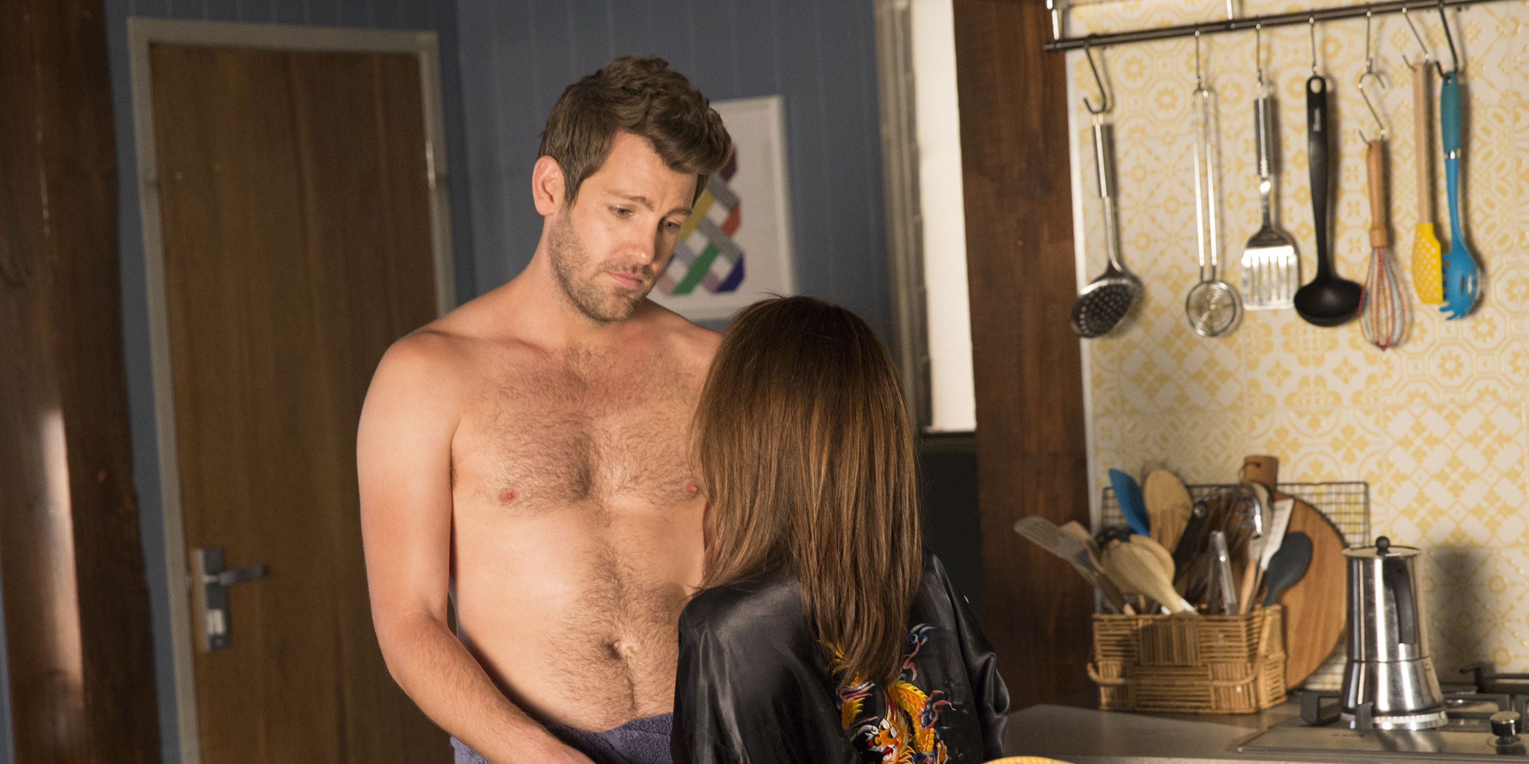 Roo Stewart and James in Home and Away
