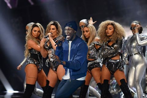 Little Mix to work with Stormzy on a new song 'All Over Me'?