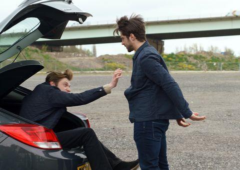 Adam Barlow kidnaps Daniel Osbourne in Coronation Street