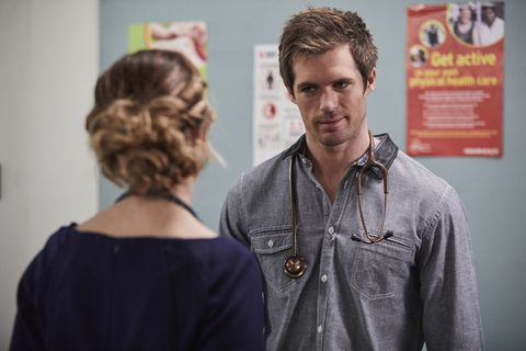Nate Cooper confronts Tori Morgan over his job in Home and Away