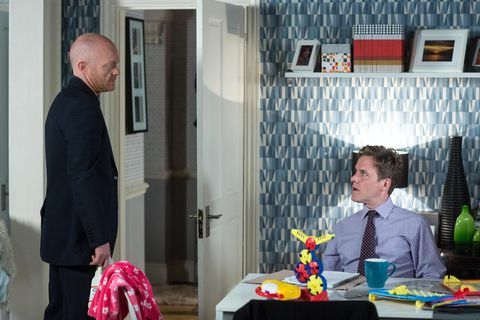 Max Branning is disappointed by what Jack Branning's brief Jimmie has to say in EastEnders