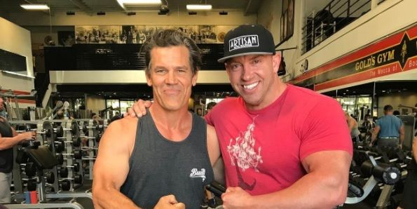 Josh Brolin bulks up for Cable role