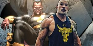 DC Universe Black Adam, The Rock, Dwayne Johnson