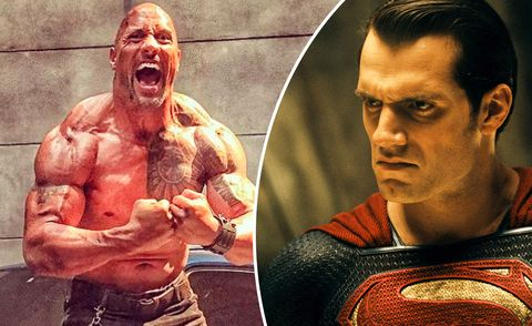 Dwayne Johnson Says A Fight Between Black Adam And Superman