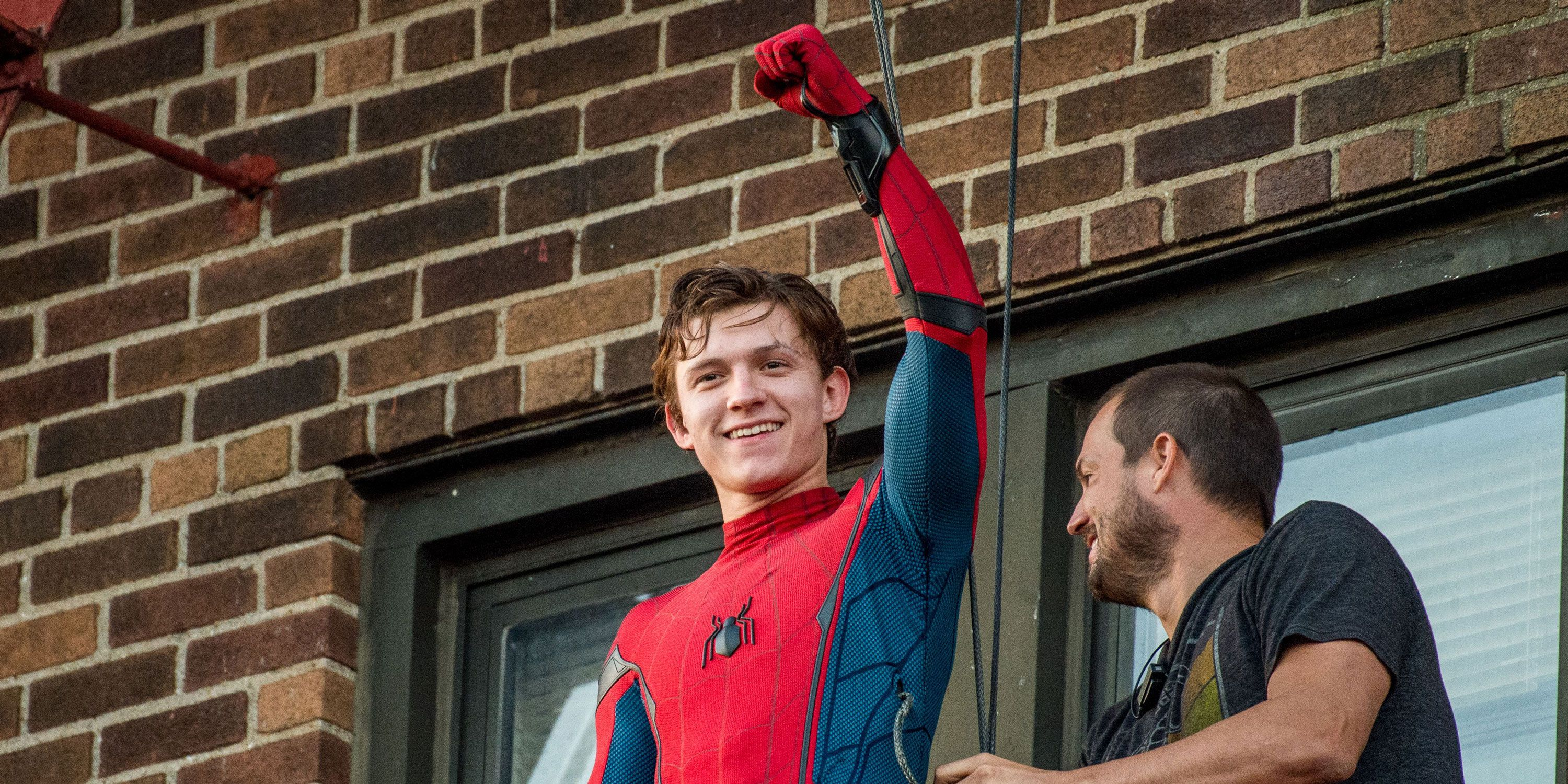 Tom Holland wants to be Spider-Man for a