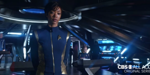 Sonequa Martin-Green in Star Trek Discovery