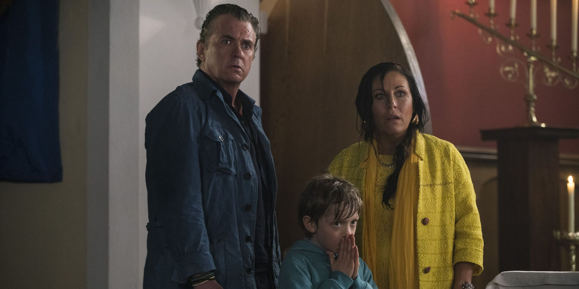 Kat, Alfie and Tommy Moon in Kat and Alfie: Redwater