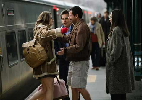 Adam Sandler - as Adam Sandler actually made a good movie? Meyerwitz Stories gets standing ovation at Cannes