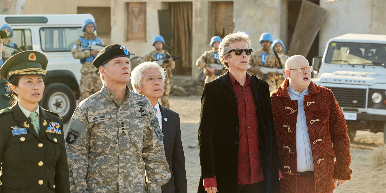 Doctor Who, episode 7, Nardole, Peter Capaldi, Matt Lucas
