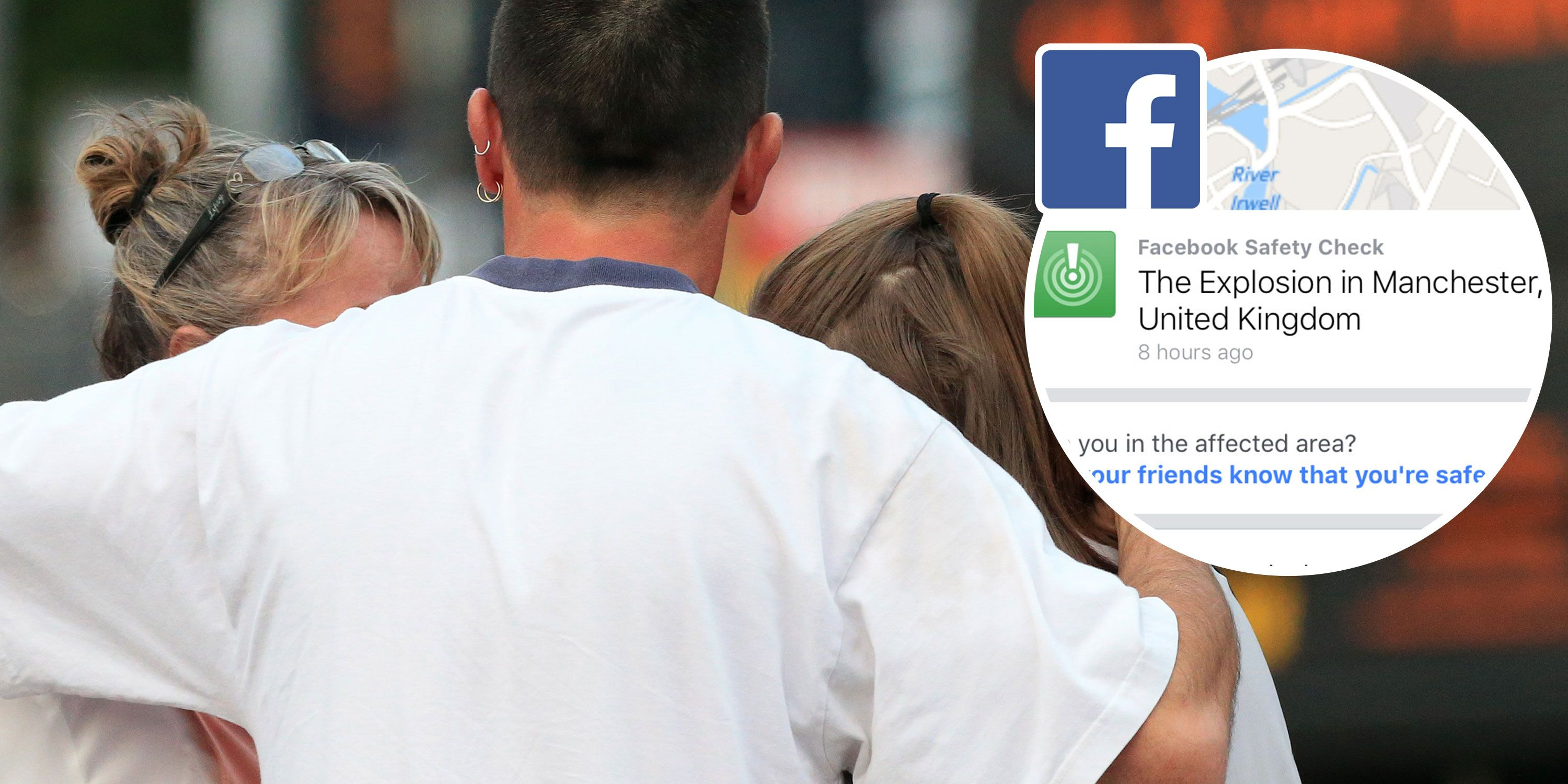 Facebook opens safety check for Manchester Arena explosion