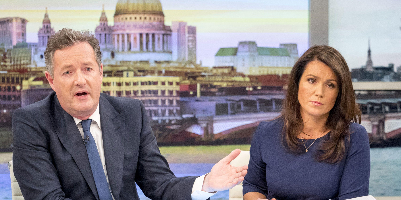 Piers Morgan, Susanna Reid, Good Morning Britain, GMB after Manchester Arena terror attacks