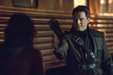 Stephen Amell slips out info