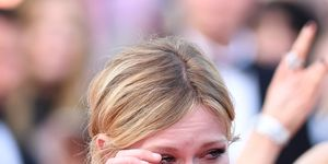 Kirsten Dunst cries at Cannes Film Festival