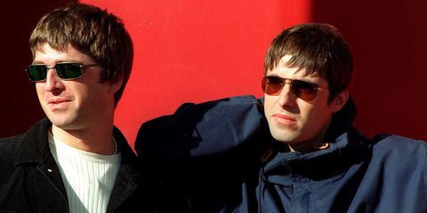78b06503db96 Liam and Noel Gallagher both sing 'Don't Look Back in Anger' at  Glastonbury... just not together