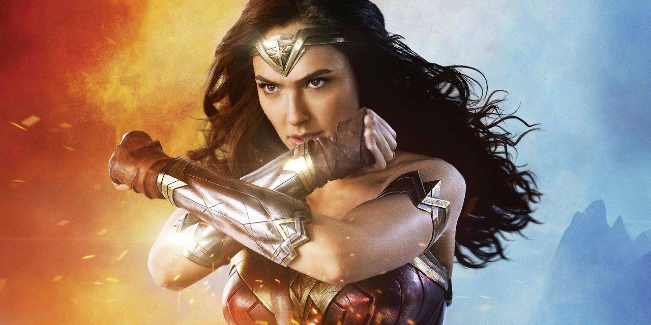 Gal Gadot in Wonder Woman poster