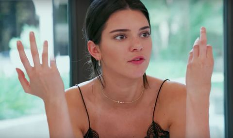 Kendall Jenner on Keeping Up With The Kardashians