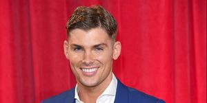 Hollyoaks star Kieron Richardson attends the British Soap Awards 2017