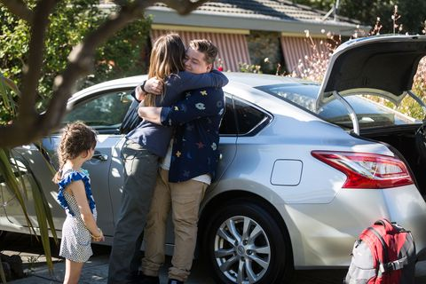 Callum Rebecchi says his goodbyes to Toadie and Sonya in Neighbours