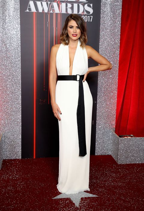 Sophie Porley attends the British Soap Awards 2017