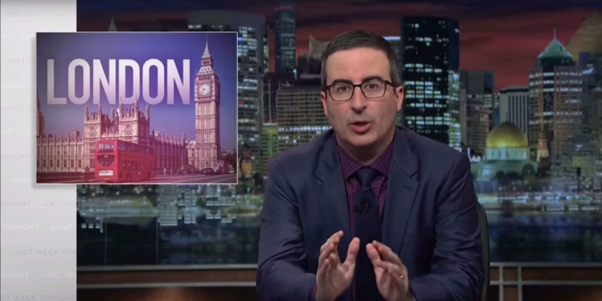 US TV host John Oliver berates American media for their coverage of London terror attack