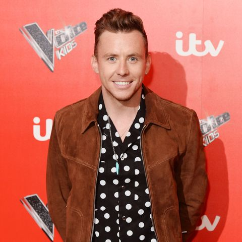"The Voice Kids UK's Danny Jones admits he was a ""mess"" after Jessie J brought Channing Tatum to filming"