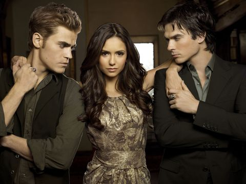 The Vampire Diaries had a very different final line originally