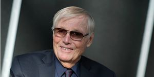 Adam West attends the Batman: Return of the Caped Crusaders Press Room at New York Comic-Con