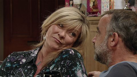 Erica Holroyd and Kevin Webster get closer in Coronation Street