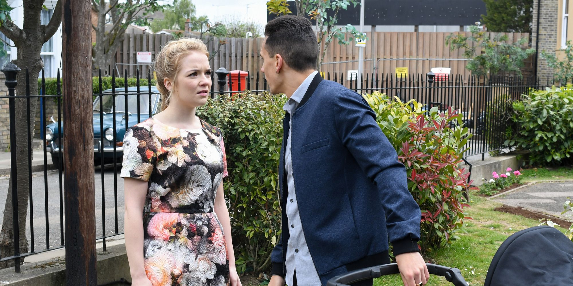 Abi Branning spies an opportunity to cause trouble with Steven Beale in EastEnders