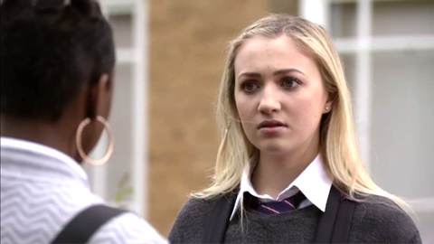 bb0a7b1d759e9 Louise Mitchell is shocked by what Madison and Alexandra tell her in  EastEnders