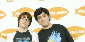 Drake and Josh at the Nickelodeon's 17th Annual Kids' Choice Award in 2004