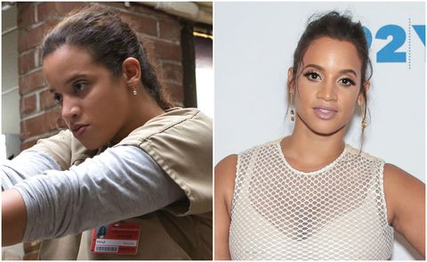 Dascha Polanca in Orange is the New Black and out of the show