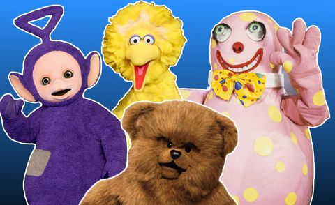 Tv Costumed Characters And Puppets Who Were The People Inside Them
