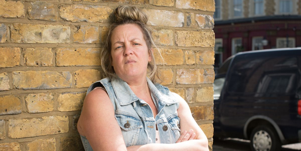 EastEnders' Lorraine Stanley cried for real in recent scene