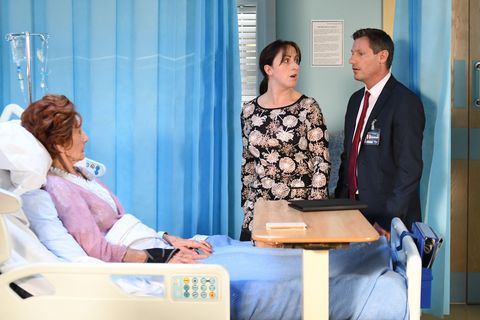 Robbie learns that he can't move in with Dot in EastEnders
