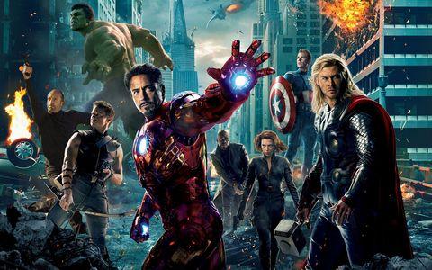 Jason Statham - The Avengers, Marvel