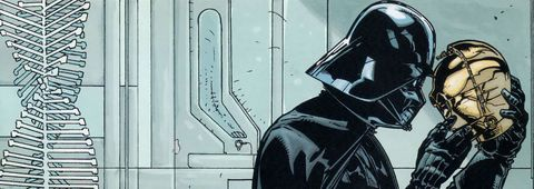 Darth Vader e C-3PO Star Wars comic