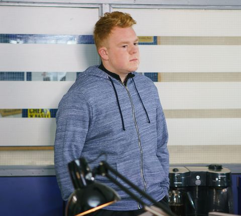 Craig Tinker decides to quit the police force in Coronation Street