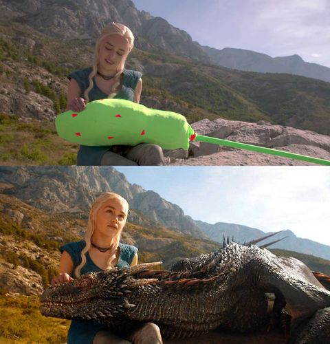 <p>Daenerys Stormborn, breaker of chains, mother of big green cotton buds.</p>
