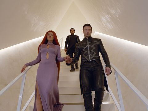 Marvel's Inhumans - Anson Mount, Iwan Rheon, Serinda Swan - Black Bolt, Maximus and Medusa