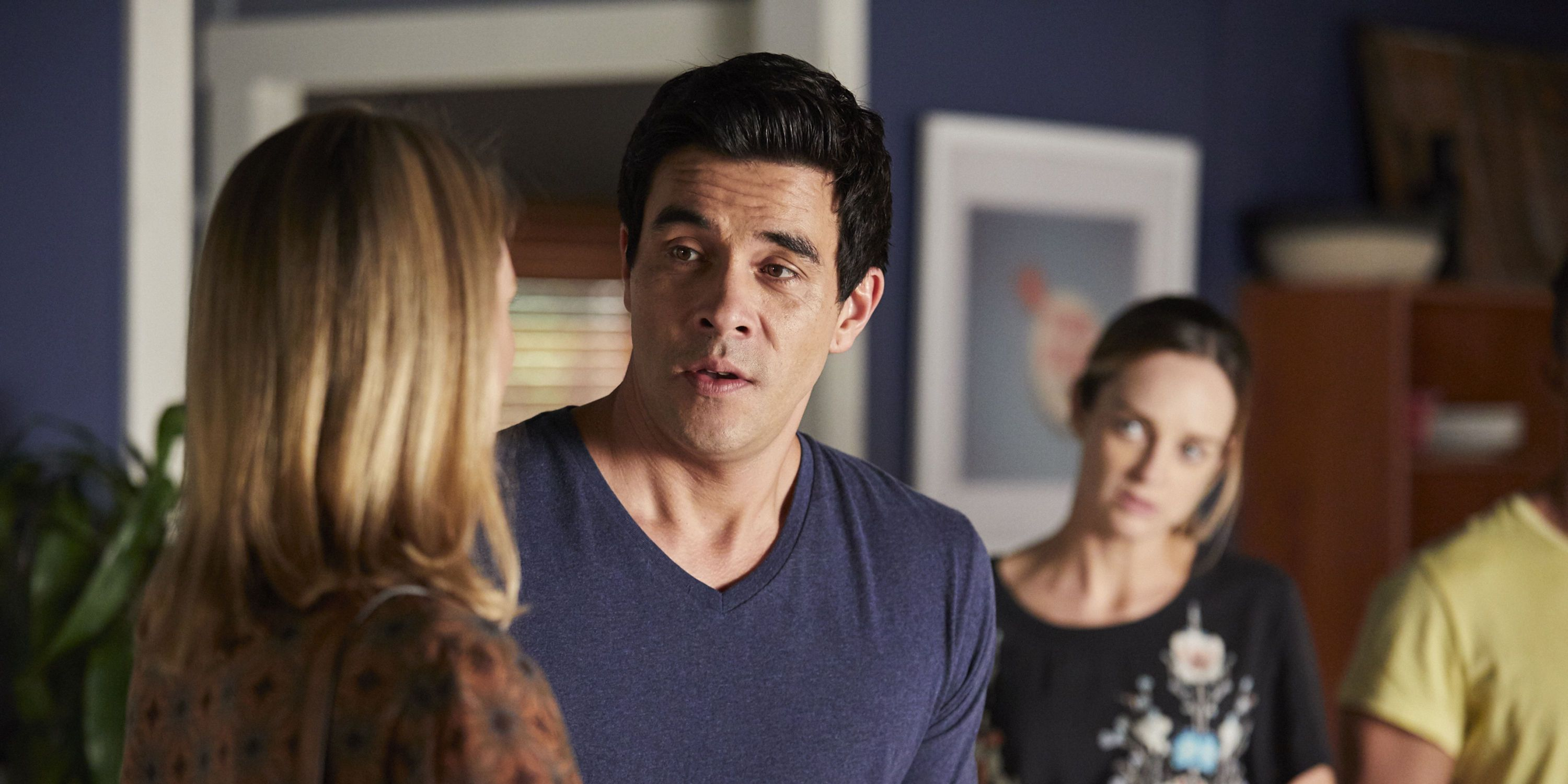 Scarlett Snow warns the Morgans about Brody in Home and Away