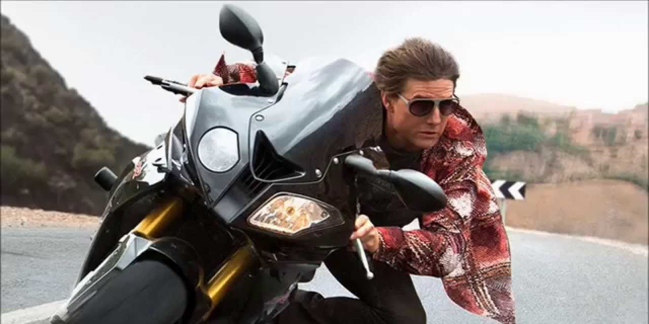 Mission Impossible: Rogue Nation starring Tom Cruise