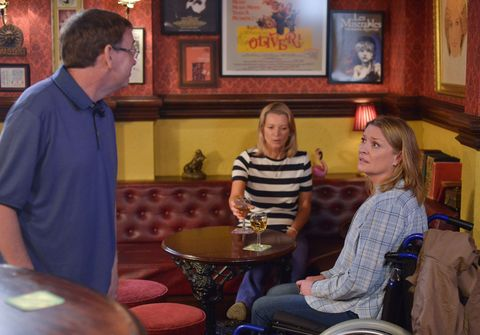 Ian Beale regrets accepting an offer on the chippy in EastEnders