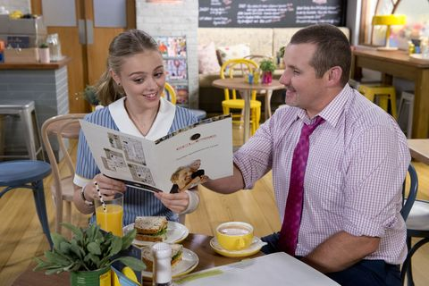 Toadie Rebecchi tells Willow Somers they're moving in Neighbours