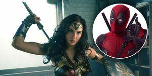 Gal Gadot, Wonder Woman, Deadpool