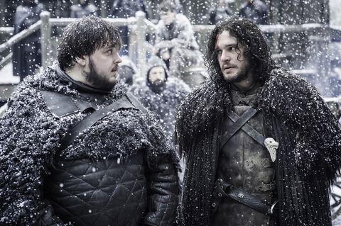 Sam and Jon Game Of Thrones