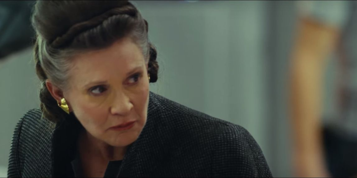 Star Wars: The Last Jedi - Carrie Fisher as Leia