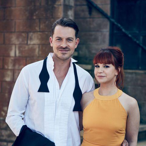 Nancy and Darren Hollyoaks