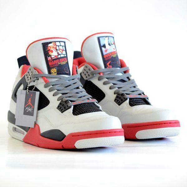 These custom Nintendo Nike Air Jordan